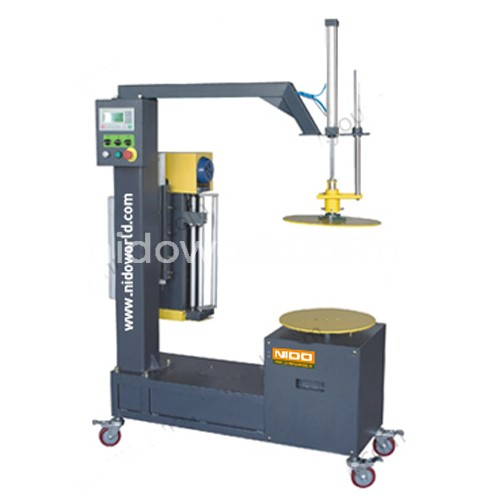 Nido Carton Stretch Wrapping Machine - with Top Press