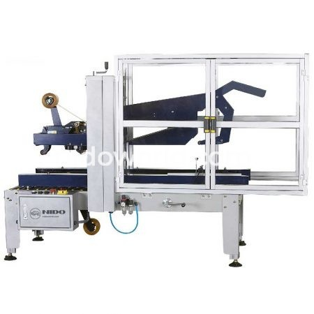 Semi-Automatic Flap Folding Carton Sealer