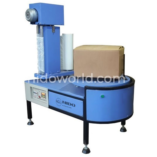 Nido Carton Stretch Wrapping Machine - with Power Pre Stretch