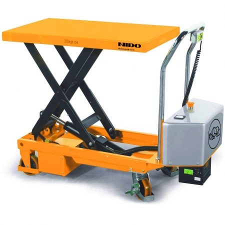 Semi Electric Scissor Lift Table Truck