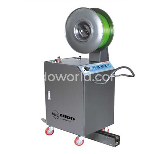 Semi Automatic Pallet Strapping
