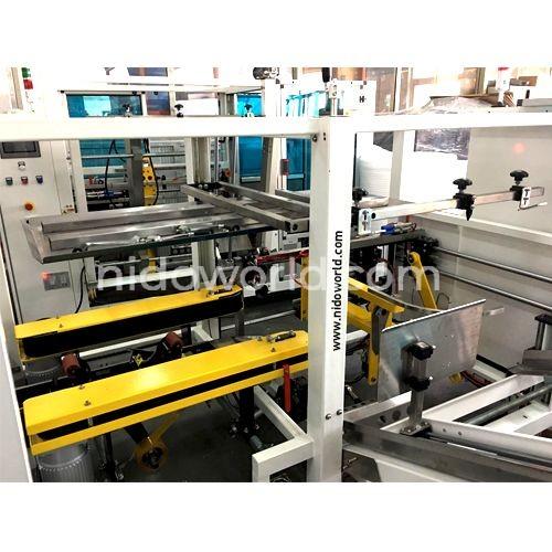 Fully Automatic Case Erector -Compressor