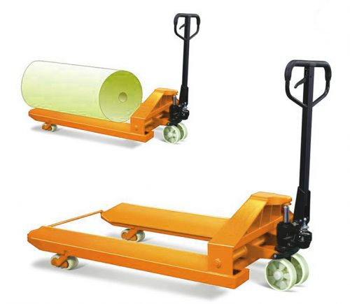 Reel pallet truck
