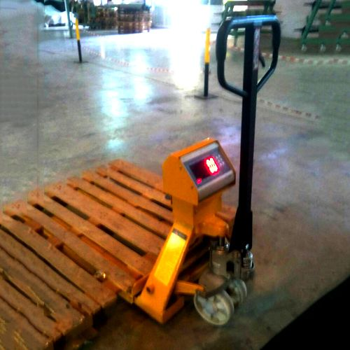 Pallet Truck With Weighing System