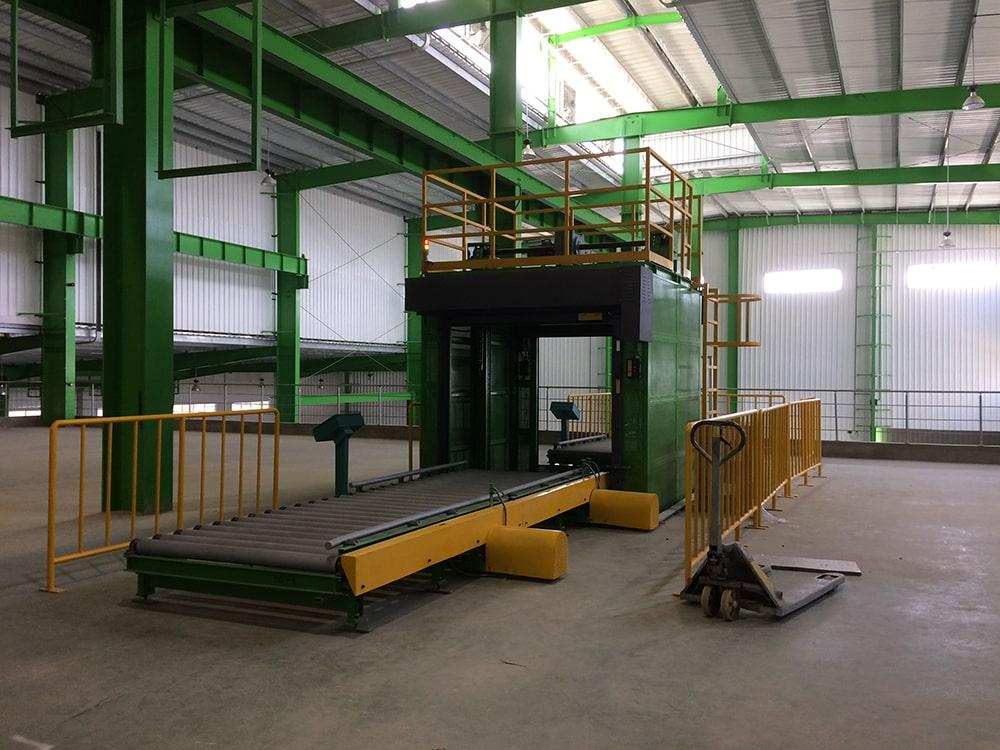 Vertical Reciprocator Conveyor System