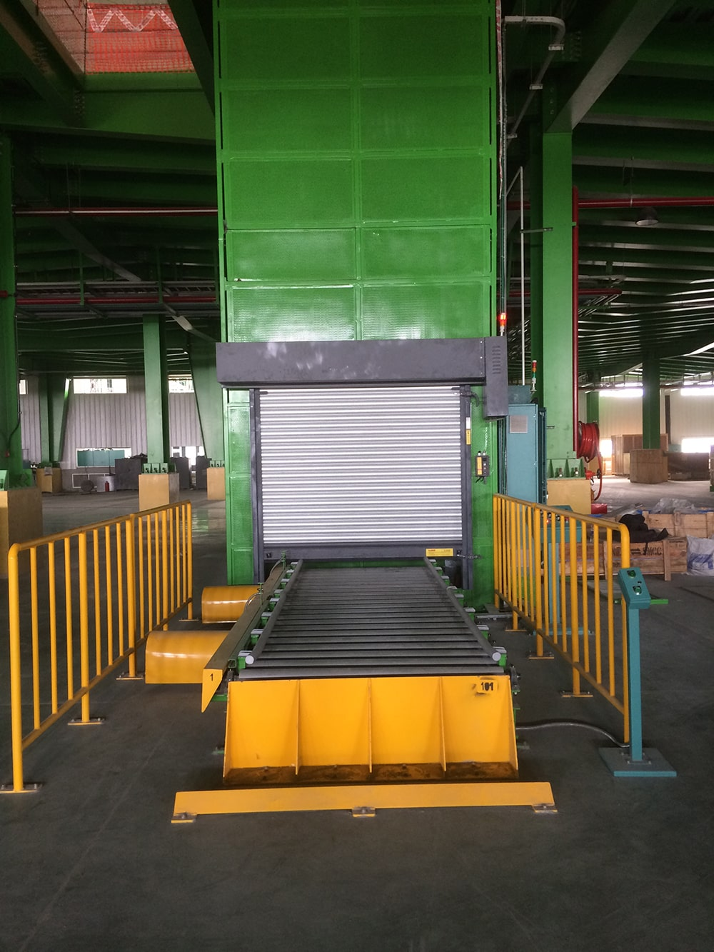 Vertical Receprocating Conveyor