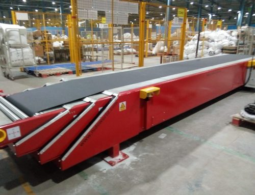 Telescopic Belt Conveyor Provided to one of the top E-commerce Companies