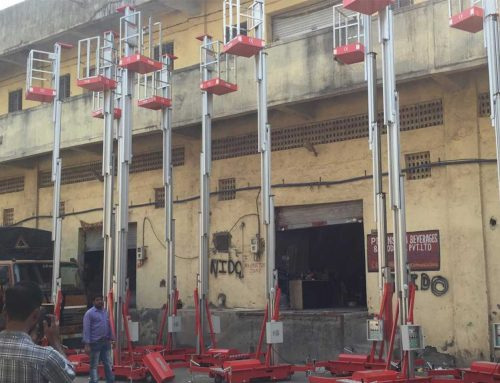 Aerial Work Platform With Stainless Steel Cage