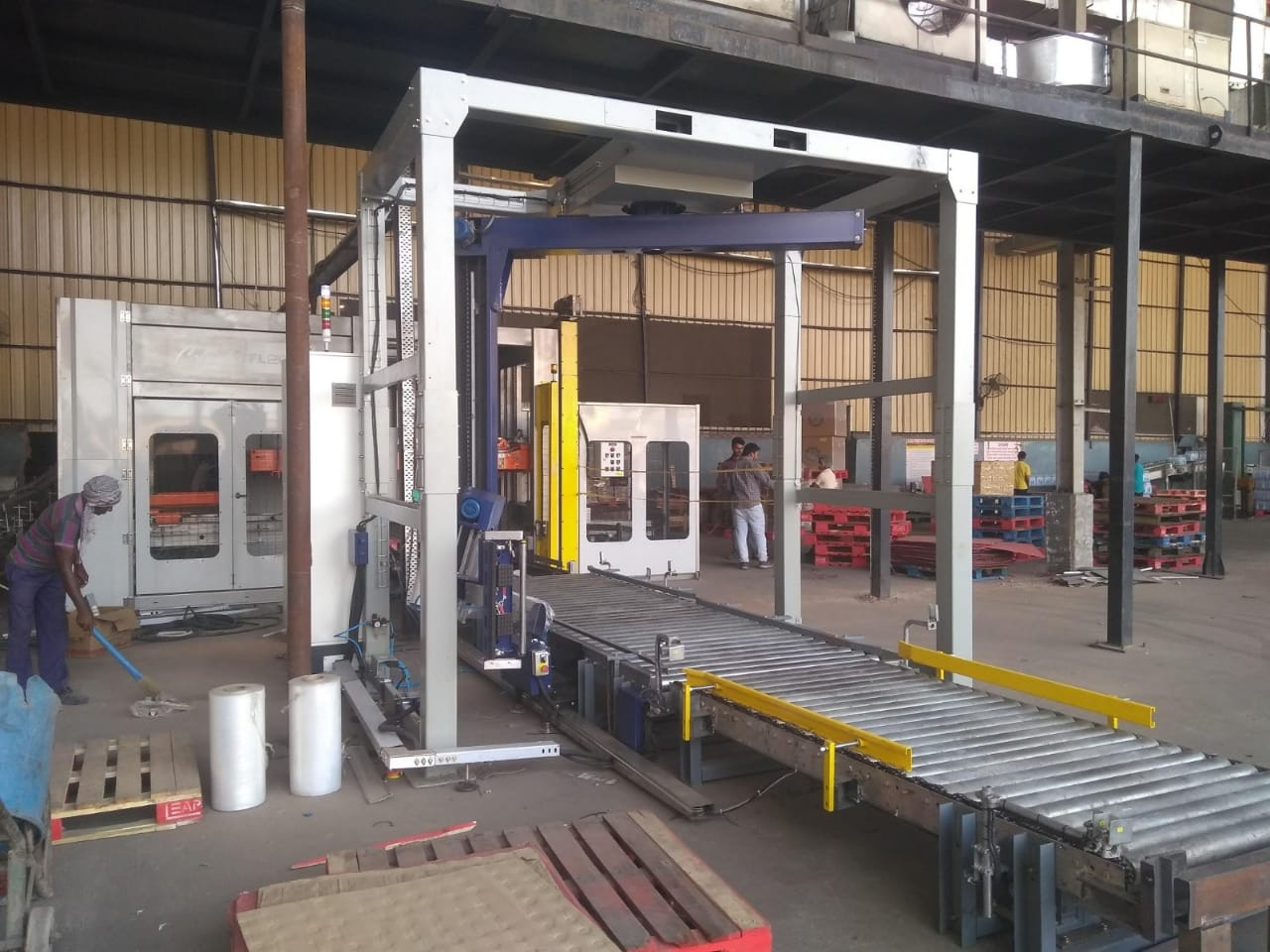 Online Pallet Stretch Wrapping Machine