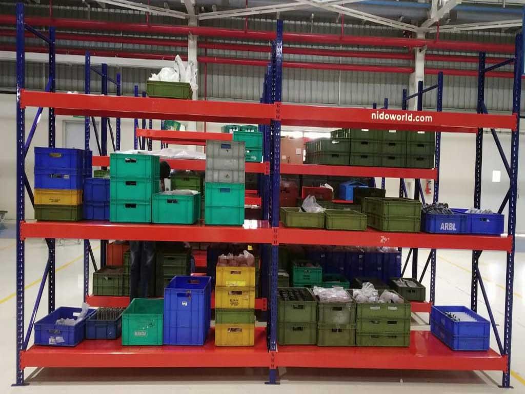 Shelve type Storage Rack System