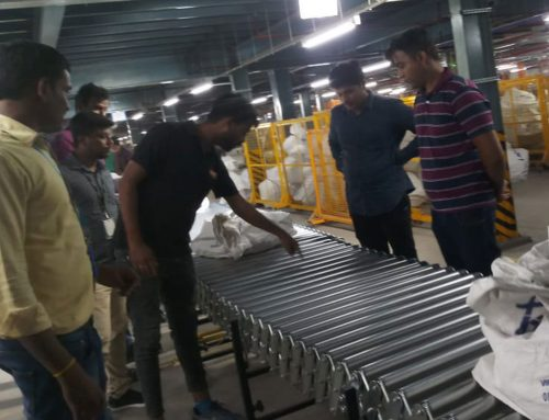 Expandable Flexible Roller Conveyor – Installation & Training at India's 2nd Largest Ecommerce Company
