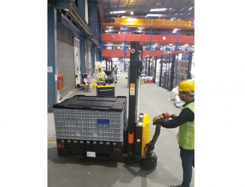 Economy Power Stacker rental to ECommerce company