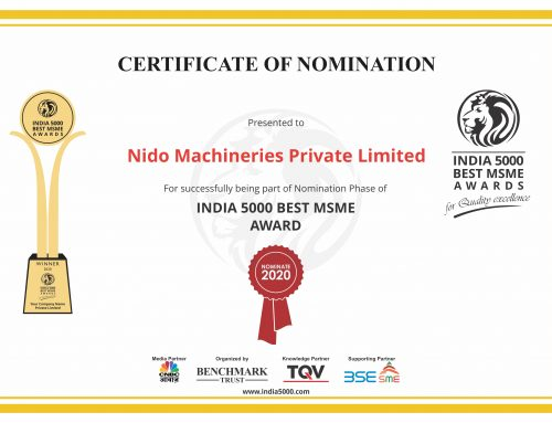 We have been nominated for India 5000 Best MSME Awards 2020!