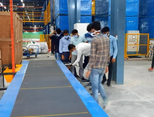 Telescopic Belt Conveyor Operation & Safety Training Provided to a Top E-commerce Company